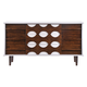 Zuo Modern Seattle Double Dresser in Walnut and White 800320
