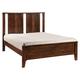 Zuo Modern Portland King Panel Bed in Walnut 800311