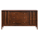 Zuo Modern Portland Double Dresser in Walnut 800324