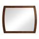 Zuo Modern Portland Mirror in Walnut 800325