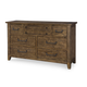 Legacy Classic River Run 7 Drawer Dresser in Bourbon 4740-1200