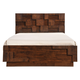 Zuo Modern San Diego Queen Panel Bed in Walnut 800302