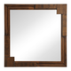 Zuo Modern San Diego Mirror in Walnut 800329