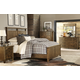 Legacy Classic River Run 4 Piece Panel Bedroom Set in Bourbon