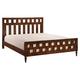 Zuo Modern LA Queen Panel Bed in Walnut 800303