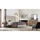 Hooker Furniture Studio 7H Aon Upholstered Panel Bedroom Set in Walnut