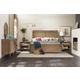 Hooker Furniture Studio 7H Noble Rope Panel Bedroom Set in Walnut