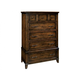 Hekman Harbor Springs 5 Drawer Chest  in Rustic Hardwood 941502RH