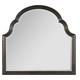 Hooker Furniture Treviso Shaped Landscape Mirror in Rich Macchiato 5374-90009