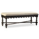 Hooker Furniture Treviso Bed Bench in Rich Macchiato 5374-90019