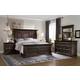 Hooker Furniture Treviso Panel Bedroom Set in Rich Macchiato