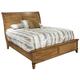 Hekman Harbor Springs Queen Sleigh Bed in Rustic Light 941506-508RL