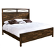 Hekman Harbor Springs King Panel Bed in Rustic Hardwood 941513-515RH