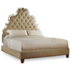 Hooker Furniture Sanctuary Tufted California King Bed in Beige