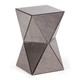 Zuo Modern Pure Prism Side Table in Antique 850100