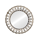 Zuo Modern Pure Bass Mirror Rusted in metal frame 850117