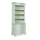 A.R.T Furniture Chateaux Bedside Chest with Hutch in Grey 213142-2023