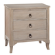 Hekman Sutton's Bay 3 Drawer Nightstand in Driftwood 1-4163