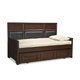 Legacy Classic Kids Benchmark Full Upholstered Panel Daybed w/Trundle/Storage Drawer