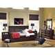 Legacy Classic Kids Benchmark Upholstered Panel Daybed w/Trundle/Storage Drawer Bedroom Set