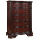 Crown Mark Furniture Sheffield 6-Drawer Chest in Dark Cherry B1100-4