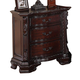 Crown Mark Furniture Sheffield Nightstand in Dark Cherry B1100-2