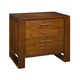 Ligna Aspen 2 Drawer Nightstand in Honey 8622HN