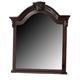 Crown Mark Furniture Neo Renaissance Dresser Mirror in Dark Walnut B1470-11