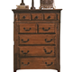 Crown Mark Furniture Neo Renaissance Chest in Dark Walnut B1470-4 CLEARANCE