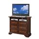 Crown Mark Furniture Neo Renaissance Media Chest in Dark Walnut B1470-7