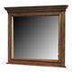 Crown Mark Furniture Highland Dresser Mirror in Walnut B9800-11