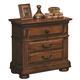 Crown Mark Furniture Highland Nightstand in Walnut B9800-2