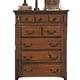 Crown Mark Furniture Highland Drawer Chest in Walnut B9800-4