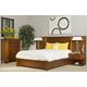 Ligna Aspen 4 Piece Bedroom Wall Set in Honey
