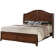 Crown Mark Furniture Alma Queen Bed in Warm Brown