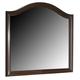 Crown Mark Furniture Alma Dresser Mirror in Warm Brown B6600-11