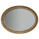 Hooker Furniture Shelbourne Oval Mirror in Lustrous Caramel 5339-90007