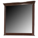 Crown Mark Furniture Portsmouth Dresser Mirror in Rich Cherry B6075-11