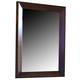 Ligna Canali Vertical Mirror in Mocha 6823MRMOC