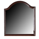 Crown Mark Furniture Samantha Dresser Mirror in Warm Cherry B8460-11