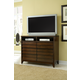 Ligna Canali 6 Drawer Entertainment Console Chest in Mocha 6810MOC