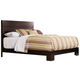 Ligna Carmel Queen Low Profile Bed in Walnut 4917WAL