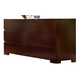Ligna Carmel 6 Drawer Dresser in Walnut 4926WAL
