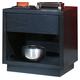 Ligna Metropolitan 1 Drawer Nightstand in Dark Charcoal 6222DC