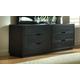 Ligna Metropolitan 6 Drawer Master Dresser in Dark Charcoal 6226DC