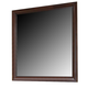 Crown Mark Furniture Stella Dresser Mirror in Rich Brown B4500-11