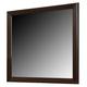 Crown Mark Furniture Collier Dresser Mirror in Dark Brown B9500-11