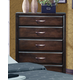 Crown Mark Furniture Vera Drawer Chest in Rich Brown B6150-4