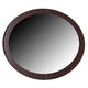 Ligna Port Oval Mirror in Rose Brown 6613RB