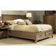 Ligna Soho Queen Panel Storage Bed in Latte 7013LT